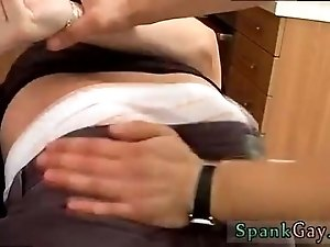 Nude gay twink fingering movie xxx A Well Deserved Spank & Suck!