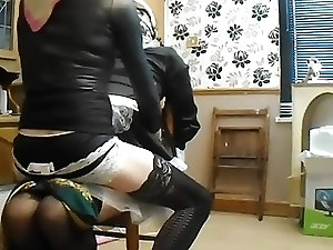Scarf bound maid 3