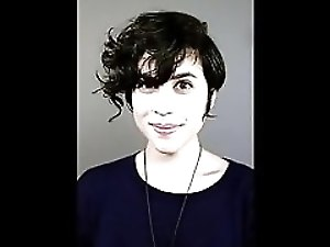 Ashly Burch's Cum Tribute Destruction