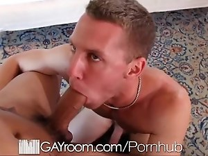 HD - GayRoom Sexy interracial couple fuck hard