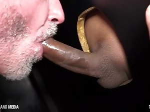 Every dick has a home in this daddy's throat