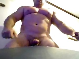 Muscle Bear cumshots