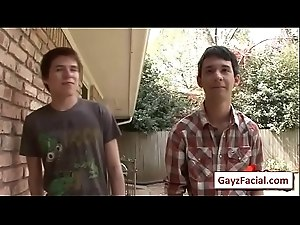 Bukkake Gay Boys - Nasty bareback facial cumshot parties 05