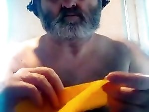 SHIRTLESS ORIGAMIST LIVE ON FACEBOOK