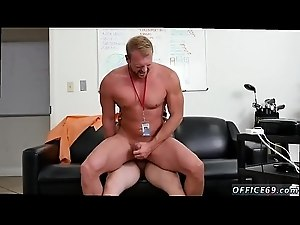 Gay coach fucks boy porn vid First day at work